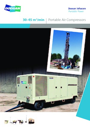 Kompressoren Hochdruck Doosan 10/455