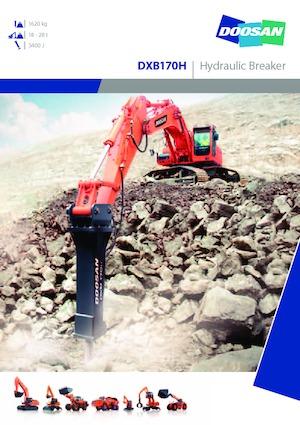 Hydraulik-Meißelhämmer Doosan DXB170H