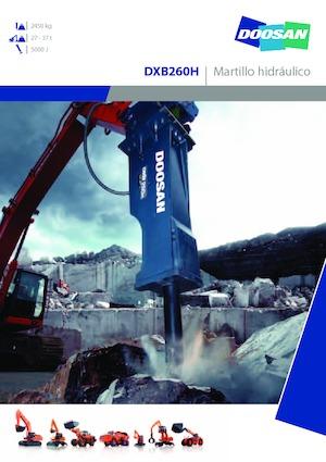 Hydraulik-Meißelhämmer Doosan DXB260H