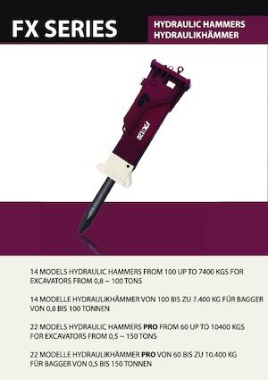 Hydraulik-Meißelhämmer Hydra Ram FX-10