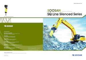 Hydraulik-Meißelhämmer Soosan SQ150