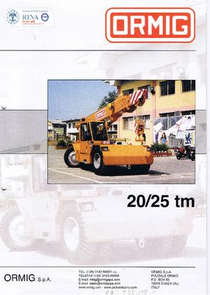 Industrie-Mobilkrane ORMIG 20/25 tm