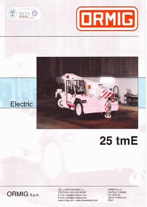 Industrie-Mobilkrane ORMIG 25 tmE