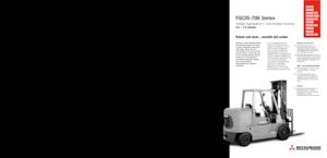 Frontstapler Treibgas Mitsubishi FGC70K