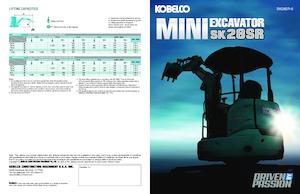 Minibagger Kobelco SK28SR-6