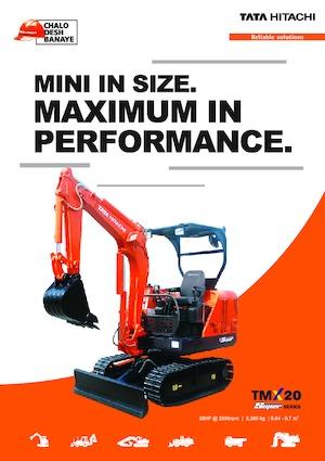 Minibagger Hitachi TMX 20