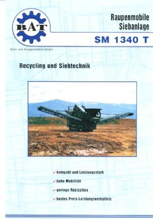 Mobile Siebanlagen BAT SM 1340 T
