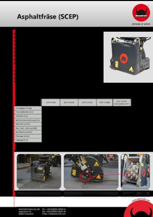 Anbaufräsköpfe (hydr.) SkanCraft SCLP15-450