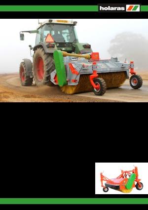Anbau-Kehrmaschinen Holaras Basic H 270 V