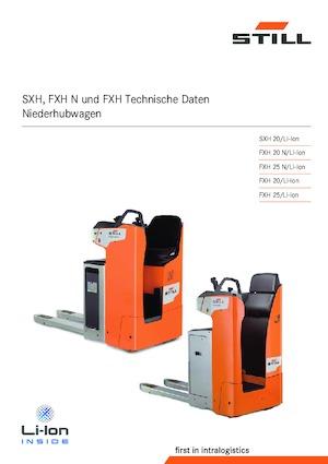 E.-Sitz-Niederhubwagen Still FXH 25