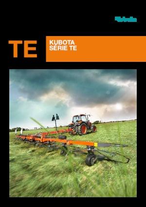 Rotorzettwender Kubota TE6568