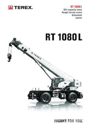 RT-Krane TEREX CRANES RT 1080 L