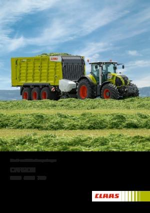 Kurzschnittladewagen Claas Cargos 8400