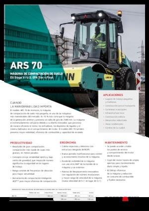 Walzenzüge Ammann ARS 70