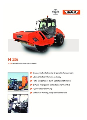 Walzenzüge Hamm H 25i
