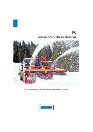 Frässchleudern Schmidt FS 75