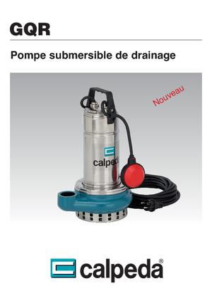 Tauchkörperpumpen-Schmutzwasser Calpeda GQR 10-14