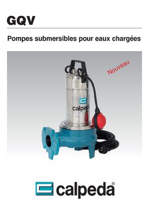 Tauchkörperpumpen-Schmutzwasser Calpeda GQV 50-15