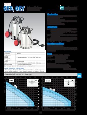 Tauchkörperpumpen-Schmutzwasser Calpeda GXR 12-10