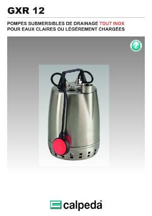 Tauchkörperpumpen-Schmutzwasser Calpeda GXR 12-16