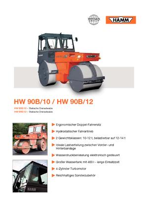 Dreiradwalzen Hamm HW 90 B/10