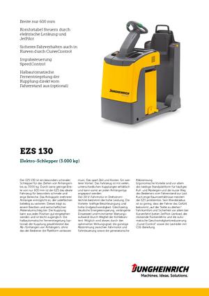 E-Schlepper Jungheinrich EZS 130
