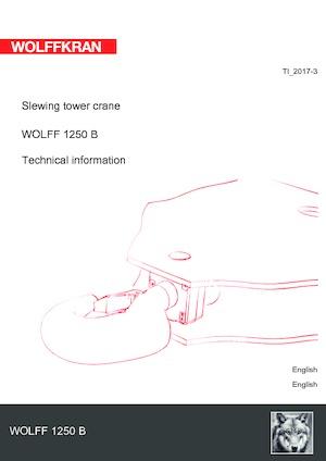 Turmkrane-N-od. Wolffkran 1250 B