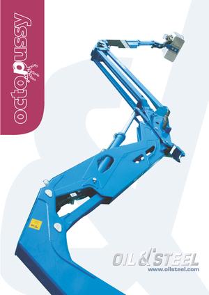 Gelenk Arbeitsbühnen auf Ketten Oil & Steel Octopussy 1412 Twin