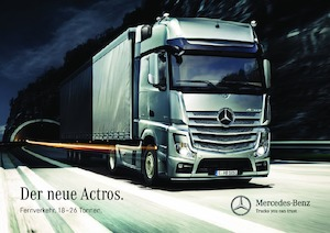 Sattelzugmaschinen/SZM Mercedes-Benz Actros 1824 LS 4x2