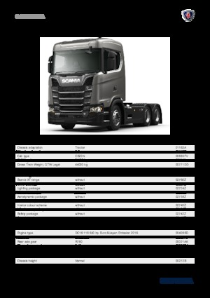 Sattelzugmaschinen/SZM Scania S 370 A4X2NA