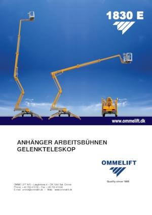 Anhänger Gelenk Arbeitsbühnen OMMELIFT 1830 EX