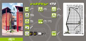 Anhänger Gelenk Arbeitsbühnen Niftylift NL 170
