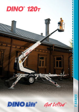 Anhänger-Teleskoparmbühnen DINO Lift ® Dino 120T
