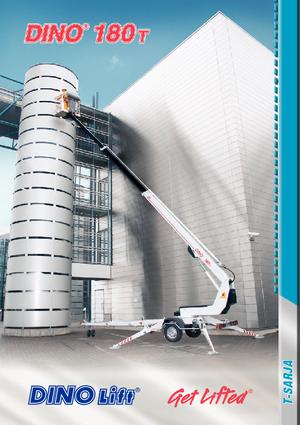 Anhänger-Teleskoparmbühnen DINO Lift ® Dino 180T