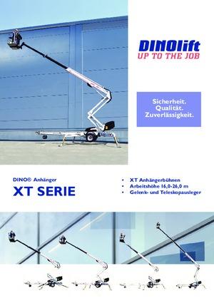 Anhänger Gelenk Arbeitsbühnen DINO Lift ® Dino 160 XT