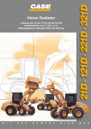 Radlader Case 021 D