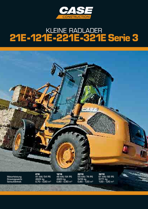 Radlader Case 021 E S-3