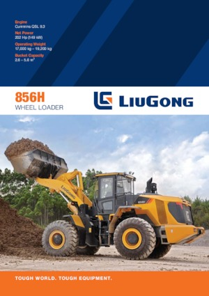 Radlader Liugong 856H