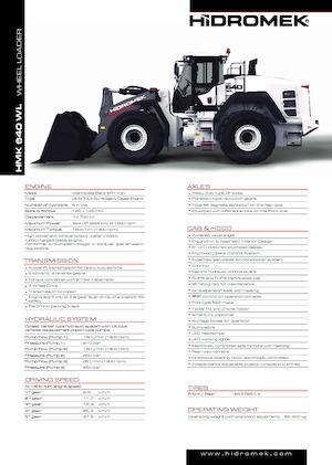 Radlader Hidromek HMK 640 WL