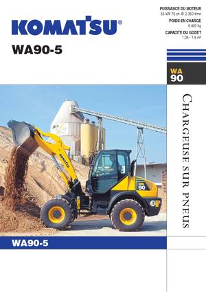 Radlader Komatsu WA90-5