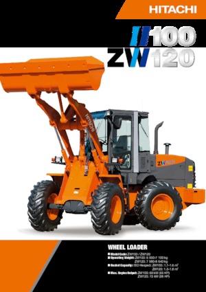 Radlader Hitachi ZW120