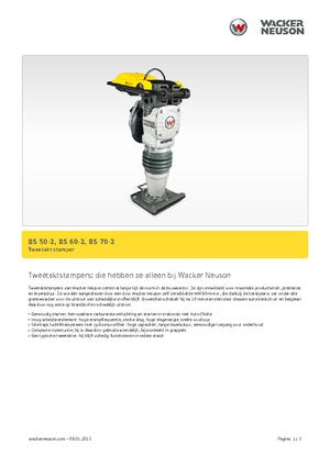 Vibrationsstampfer 2-Takt Benzin Wacker Neuson BS 70-2 11